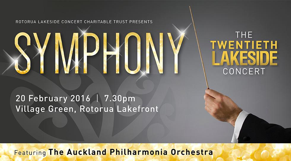 Rotorua Lakeside Concert website banner